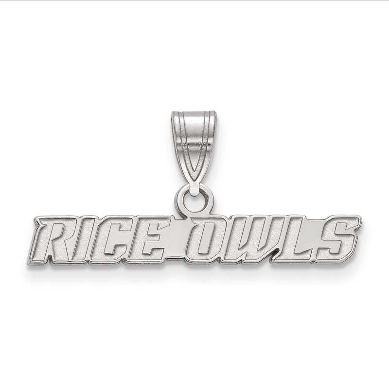 Sterling Silver Rice University Cuff Links by LogoArt