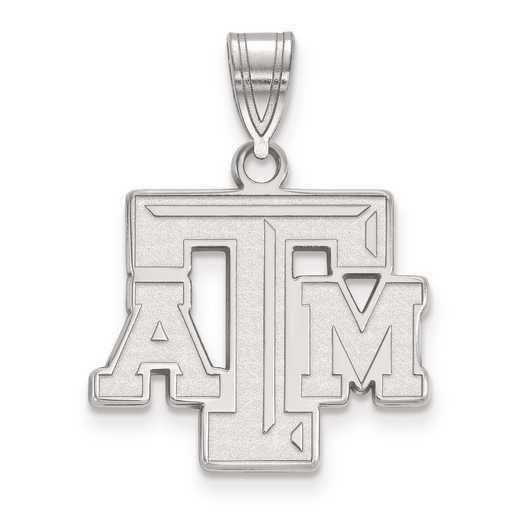 SS003TAM: SS LogoArt Texas A&M University Medium PEND