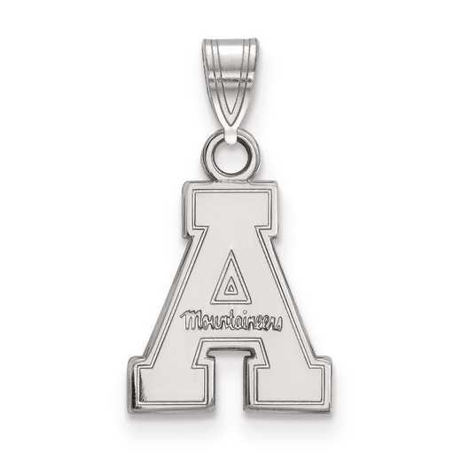 SS002APS: SS LogoArt Appalachian State University Small Pendant