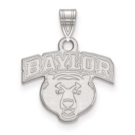 SS023BU: SS LogoArt Baylor University Small Pendant