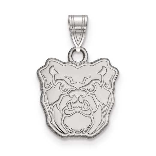SS005BUT: SS LogoArt Butler University Small Pendant