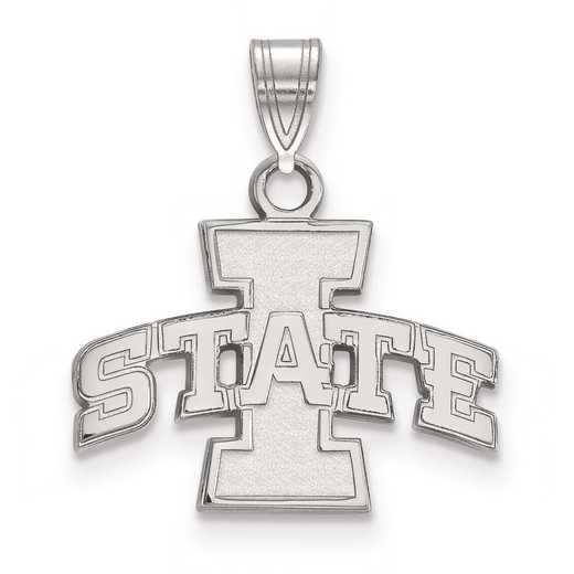 SS002IAS: SS LogoArt Iowa State University Small Pendant