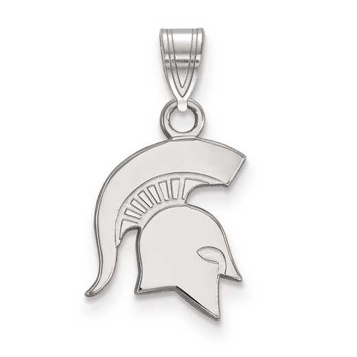 SS044MIS: SS LogoArt Michigan State University Small Pendant