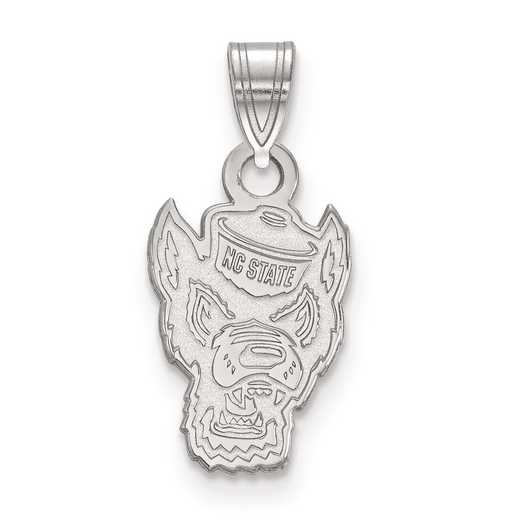 SS044NCS: SS LogoArt North Carolina State University Small Pendant