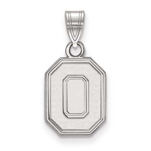SS045OSU: SS LogoArt Ohio State University Small Pendant