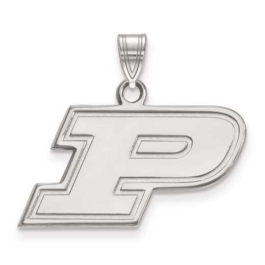 SS002PU: SS LogoArt Purdue Small Pendant
