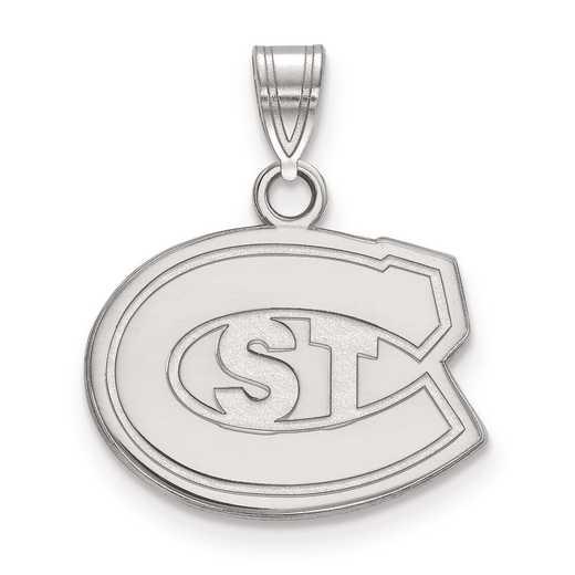 SS001STC: SS LogoArt St. Cloud State Small Pendant