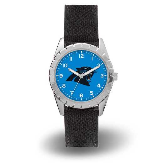 WTNKL0801: CAROLINA PANTHERS SPARO NICKEL WATCH