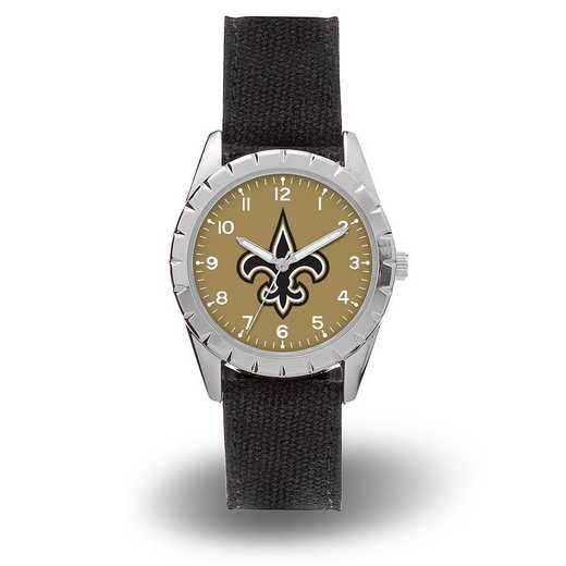 WTNKL1301: SAINTS SPARO NICKEL WATCH