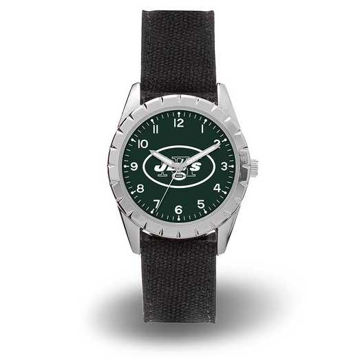 WTNKL2201: JETS SPARO NICKEL WATCH