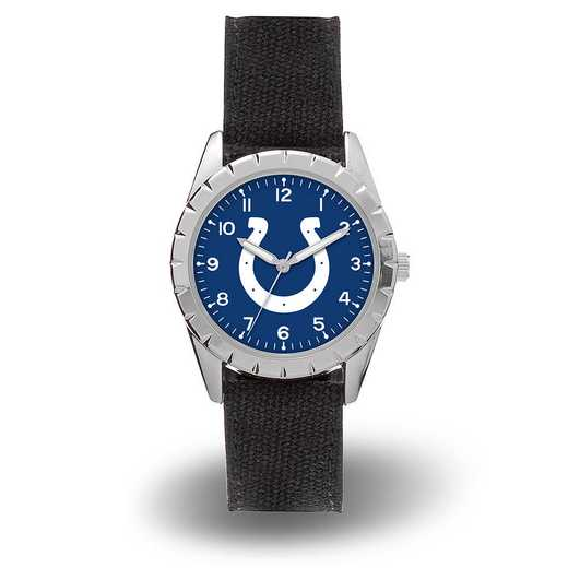 WTNKL2601: COLTS SPARO NICKEL WATCH