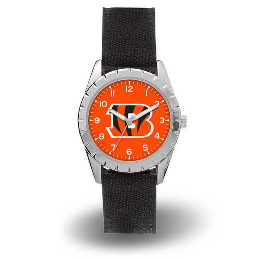 WTNKL3201: BENGALS SPARO NICKEL WATCH