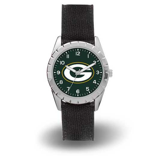 WTNKL3301: PACKERS SPARO NICKEL WATCH