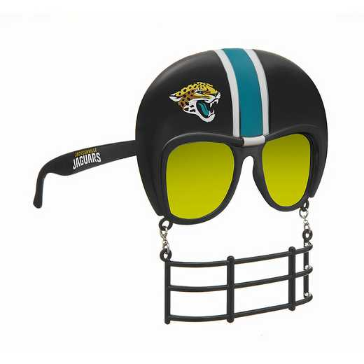 SUN0901: JAGUARS NOVELTY SUNGLASSES