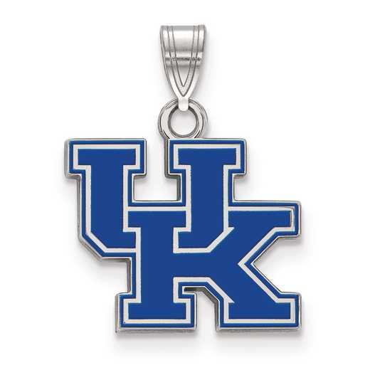 SS031UK: S S LogoArt University of Kentucky Small Enamel Pend