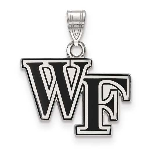 SS025WFU: S S LogoArt Wake Forest University Small Enamel Pend