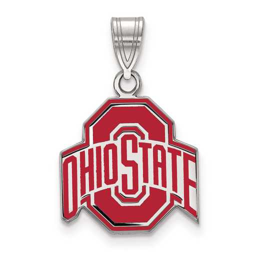 SS032OSU: S S LogoArt Ohio State University Medium Enamel Pend
