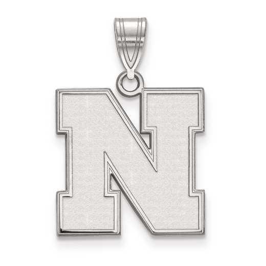 SS067UNE: SS LogoArt University of Nebraska Medium PEND