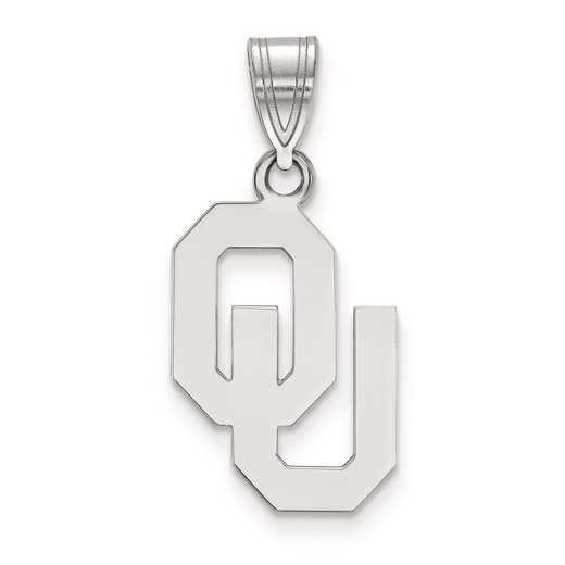 SS003UOK: SS LogoArt University of Oklahoma Medium PEND