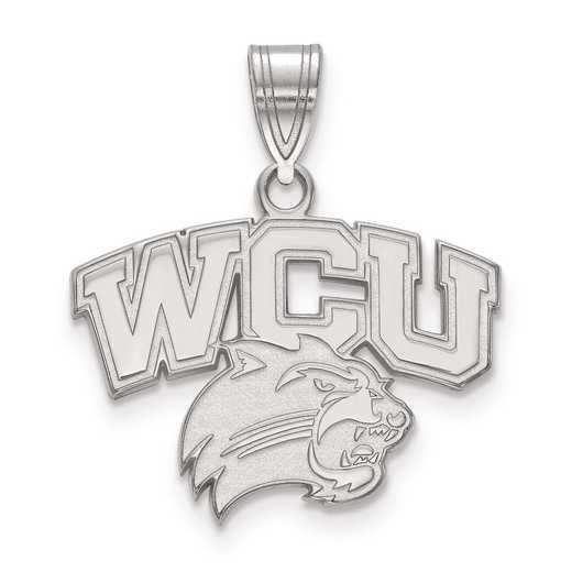 SS001WCU: SS LogoArt Western Carolina University Medium PEND