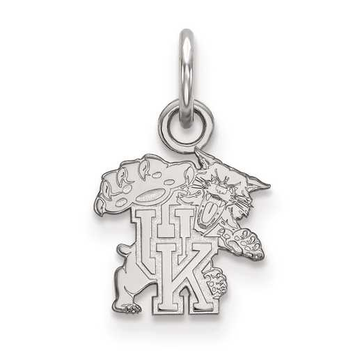 SS043UK: SS LogoArt University of Kentucky XS Pendant