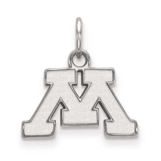 SS001UMN: SS LogoArt University of Minnesota XS Pendant