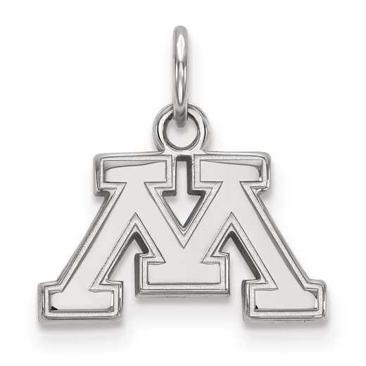 SS015UMN: SS LogoArt University of Minnesota XS Pendant