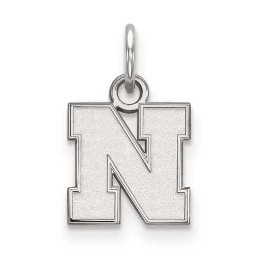 SS083UNE: SS LogoArt University of Nebraska XS Pendant