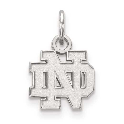 SS001UND: SS LogoArt University of Notre Dame XS Pendant