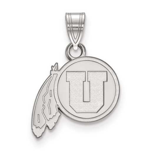 SS001UUT: SS LogoArt University of Utah Small PEND