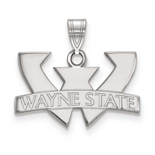 SS001WAY: SS LogoArt Wayne State University Small PEND