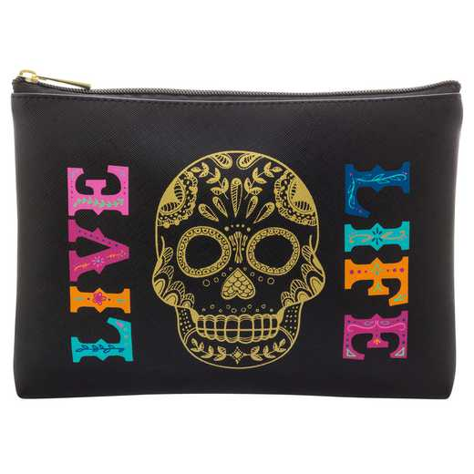 KA350229: Karma COSMETIC BAG  SKULL (F18)