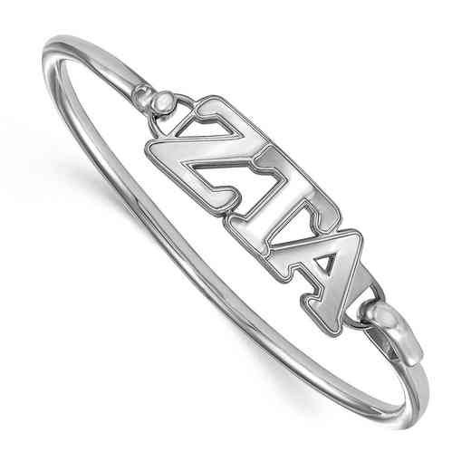 Zeta Tau Alpha Sterling Silver Bangle