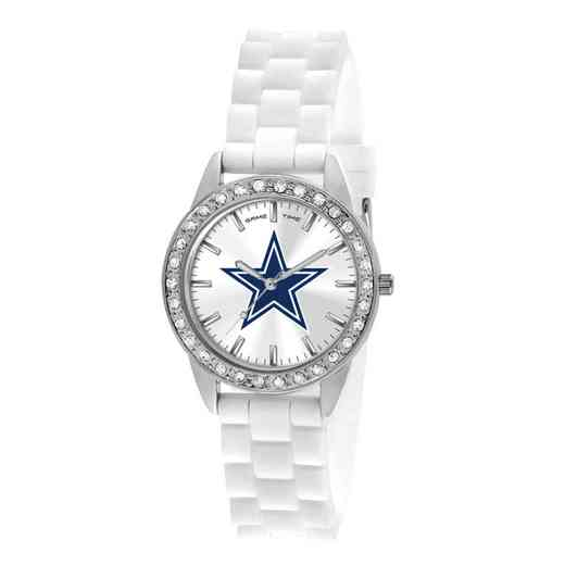 XWL1102: Ladies' NFL Frost Watch - Dallas Cowboys