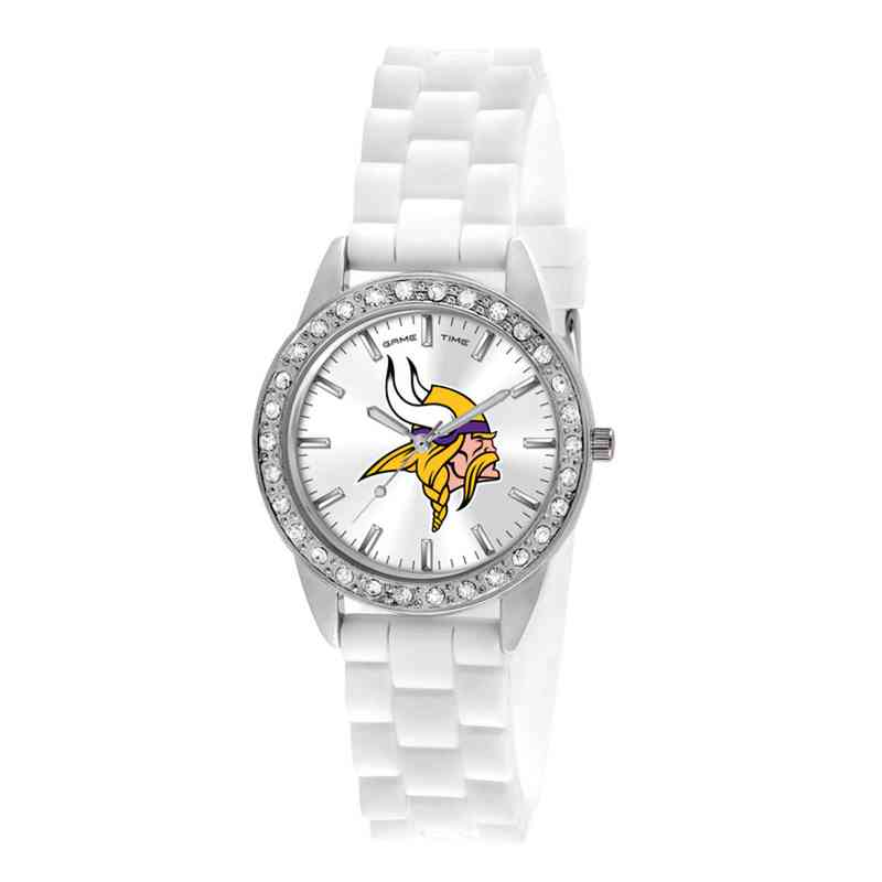 XWL1111: Ladies' NFL Frost Watch - Minnesota Vikings