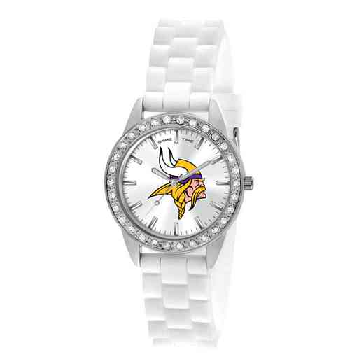 XWL1111: Ladies' NFL Frost Watch - Minnesota Vikings