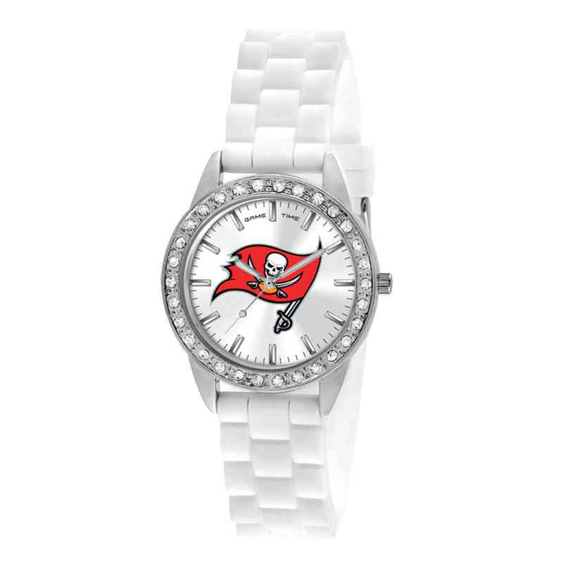 XWL1122: Ladies' NFL Frost Watch - Tampa Bay Buccaneers