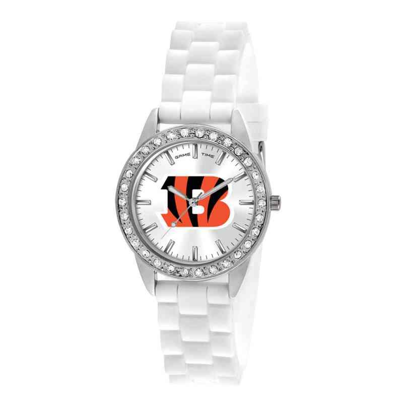 XWL1100: Ladies' NFL Frost Watch - Cincinnati Bengals