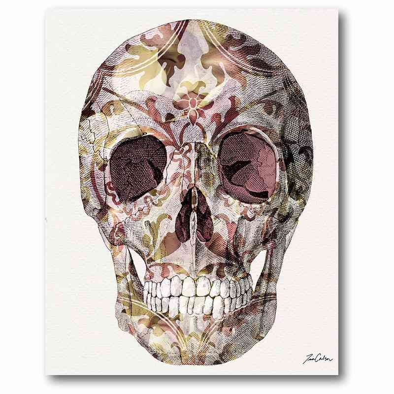 WEB-SM129: Skull Canvas 16x20