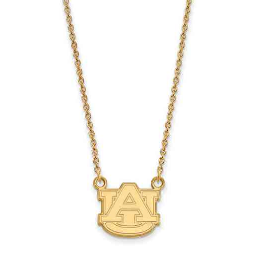 GP015AU-18: YGFP LogoArt Auburn Small Neck - Yellow