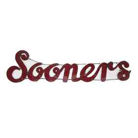 SOONERSWD: OU Sooners Metal Décor