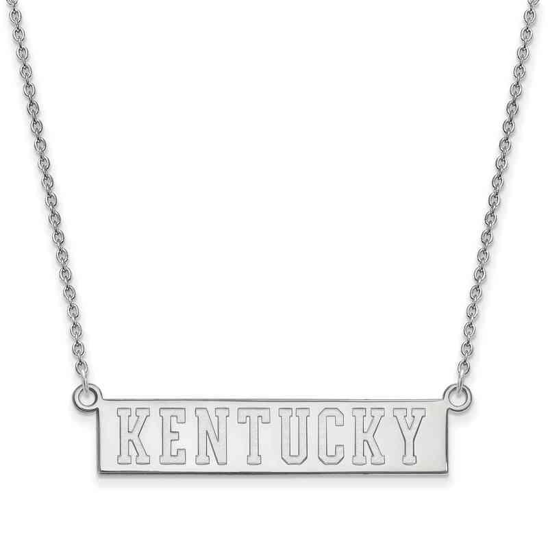 SS072UK-18: SS LogoArt Kentucky Small Neck - White