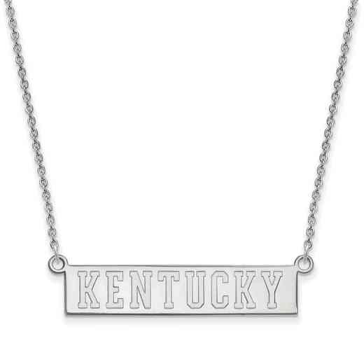 SS072UK-18: SS LogoArt Kentucky Small Neck - White