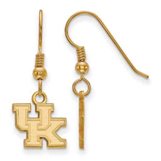 GP006UK: SS YGFP LogoArt Kentucky XS Dangle Earrings - Yellow