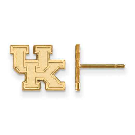 GP008UK: 925 YGFP Kentucky XS Post Earrings