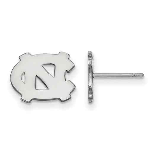 SS008UNC: 925 North Carolina XS Post Earrings