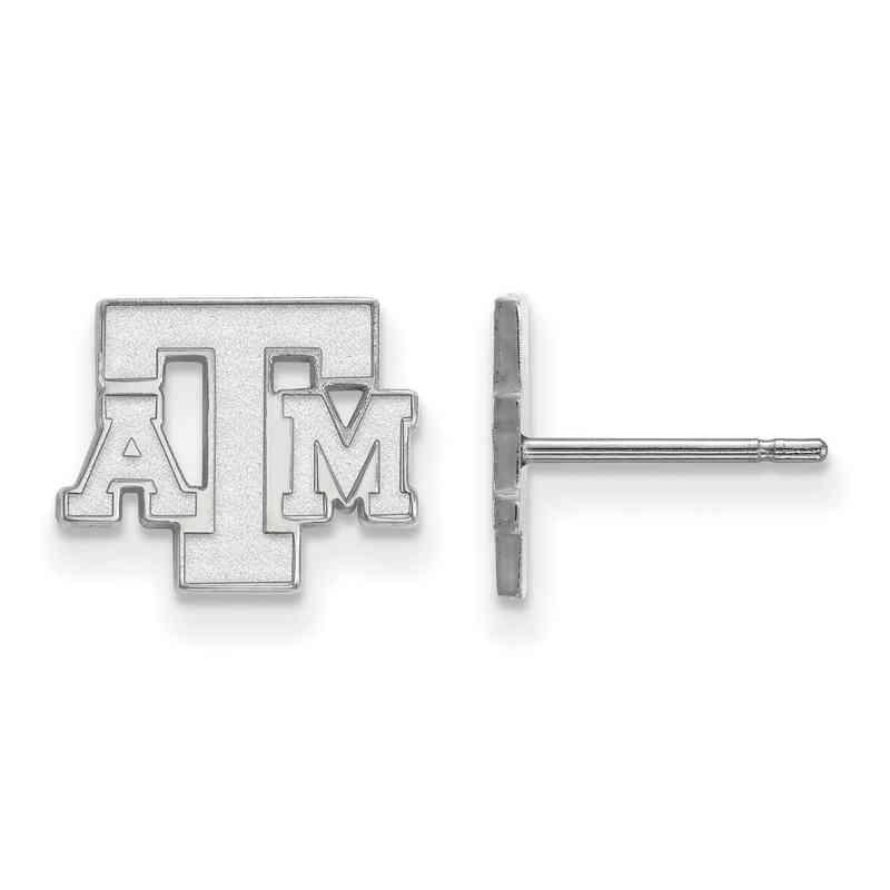 SS074TAM: 925 Texas A&M XS Post Earrings
