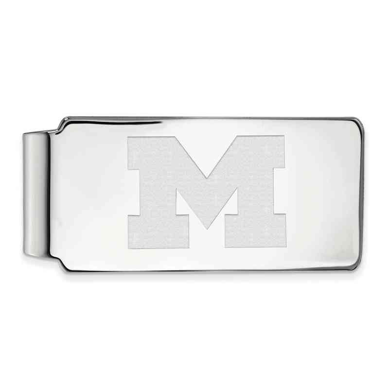 SS024UM: 925 Michigan Money Clip