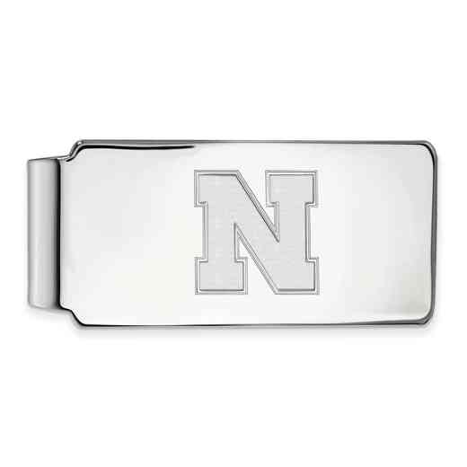 SS052UNE: 925 Nebraska Money Clip