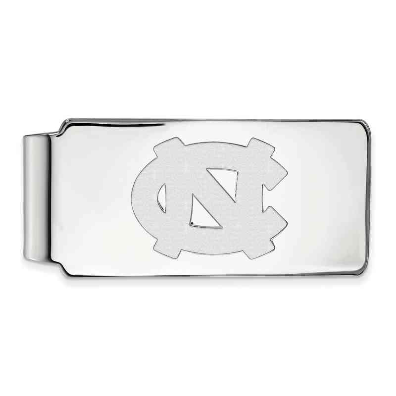 SS022UNC: 925 North Carolina Money Clip